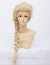 luz cor de kanekalon trança yaki amante de sonho sintética trança dourada feminino cosplay <span class=keywords><strong>perucas</strong></span> de cabelo da menina