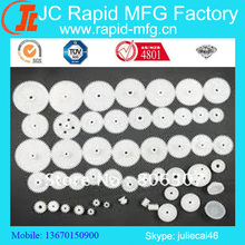 plastic gear made by injection molding