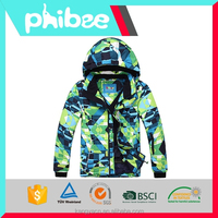Wholesale Phibee Boys and Girls ski suits snowboard jacket and pants sets for 10-16years kids childern snow wear