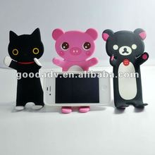 2012 new design cartoon folding mobile phone holder