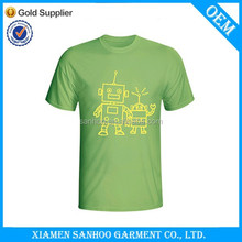 Custom Low MOQ O-Neck Tshirt Men Short Sleeve Printing Unisex Classic Style