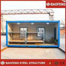 High quality for outdoor elegant design modular prefab prebuilt manufacturing install container house