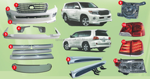 2008 land cruiser bodykit sport design update to 2012 land cruiser.