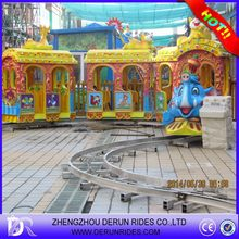 Amusement track train,new electric train for kids Shopping Mall