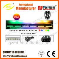 AS-606H new arrival led emergency warning lightbar magnetic mini lightbar