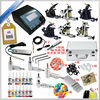 On line shop professional body art kit 6 gun tattoo machine set