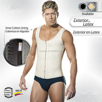 Hot Latex Cheap sports Waist Training Corsets for men black color fajas