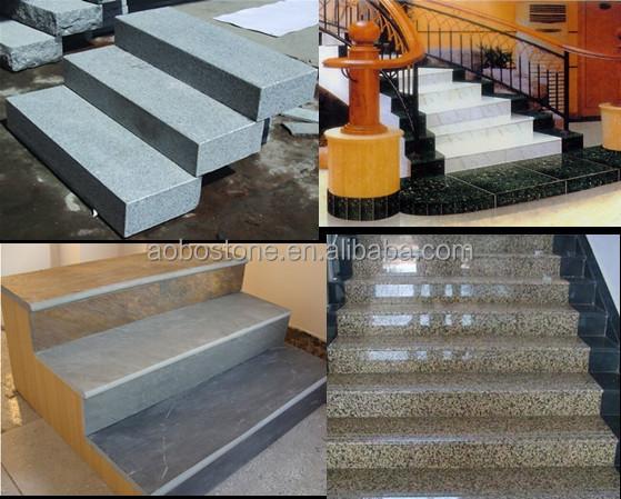 caledonia dunklen treppenstufe deckt granit treppe treppe. Black Bedroom Furniture Sets. Home Design Ideas