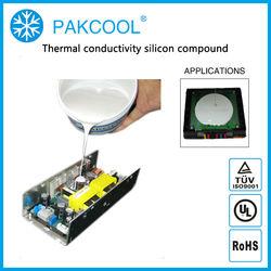 PAKCOOL non-toxic silicone thermal conduction potting glue
