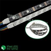 black pcb digital rgb led flexible strip ws2801