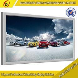 Outdoor indoor advertising ultra slim waterproof outdoor picture frame