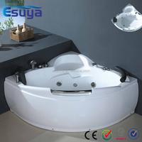 European Style Bathroom used cheap double whirlpool massage bathtub