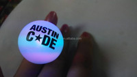 chirstmas gifts led glowing finger ring light,custom logo print promotional item led finger ring,led flashing ring light
