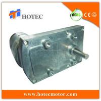Heavy duty flat gearbox reversible variable speed 24volt high torque 100kg dc motor