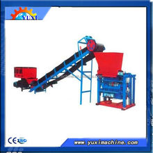 ISO9001 approved Small Manual Hollow Fly Ash Brick Making Equipment