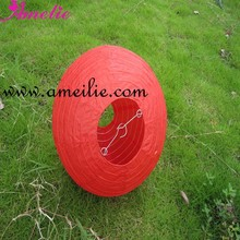 A121PL Wholesale Red Customized Size Round Ball Paper Lantern