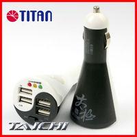 2 in 1 universal 12V 24V DC 5A output 2 port 4 port portable USB charger car battery tester