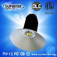DLC 100W IP65 Bridgelux COB Meanwell driver 5years warranty High bay lighting