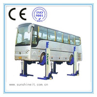 Latest model with CE mobile column car lifts