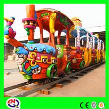 professional FRP children amusement park musical christmas train