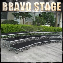 Bravo Stage Stage Risers for Sale, Cheap Folding Portable Stage