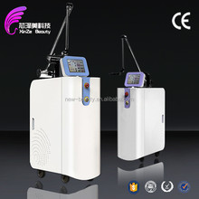 2015+ medical CE 3 yesrs warranty all pigment black blue green tattoo remove remove diode q awitched laser 1-9mm spot size