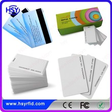 13.56mhz Access Control RFID Card with chip magnetic stripe