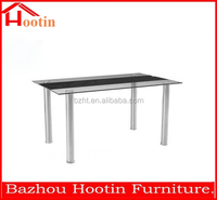 2014 Glass Extendable Dining Table & 4 Chairs Set