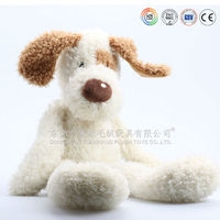 ICTI audits OEM factory animal dog toy with small body and long legs
