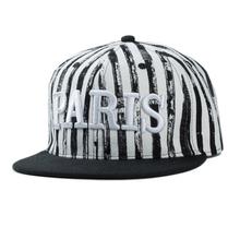 Striped hip hop baseball caps paris sun hats bosco sport men's cap mens caps and hats