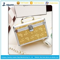 Hot Sale China suppier wholesale Watch Jewelry Box aluminum Makeup/cosmetic Case