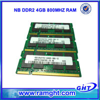 Alibaba products to import to USA 4gb ddr2 800mhz laptop ram memory