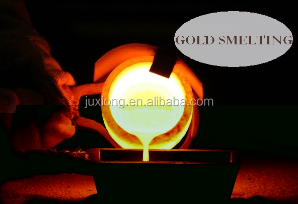 alluminium copper gold siliver melting graphite crucible