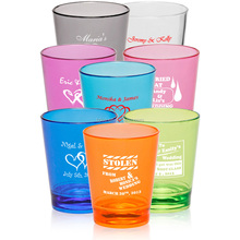 Liqueur, Shot Glasses