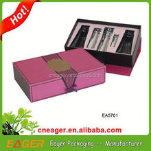 High quality cosmetic box packaging manufacturer