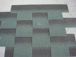 Cheap and colorful gothic fiberglass asphalt roofing shingles prices