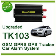 vehicle / car tracker tk103 b lock/unlock the door by sms car gps tracker with live tracking on Web / phone APP