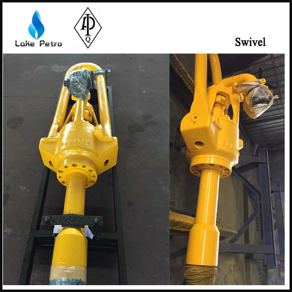 Water well drilling rig reg lh sl swivel for