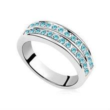 Platinum Plated Stud Earrings Jewelry