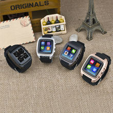 2015 Sapphire screen watch camber surface design music and audio play Spanish Portuguese Italian smart watch