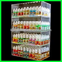 Wholesale factory price Acrylic e-cigarette display stand