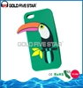 Custom Silicone Phone Case 3D Animal Silicone Phone Case For Iphone 5 5S 6 6 Plus