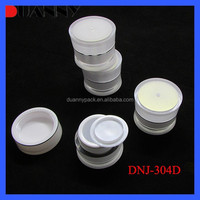 5G FREE SAMPLE CUSTOMIZABLE MOULD EMPTY COSMETIC MINI JARS FOR COSMETIC CONTAINER