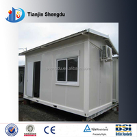 Ce certification Fire Resistant Stable Portable Cheap Container Moduler Prefab House