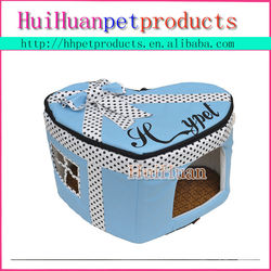 Heart and cake shape pet bed &house