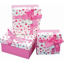 Eco-friendly recycled gift packing box