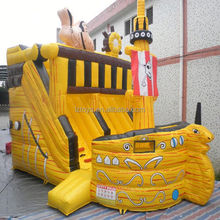 inflatable slide and slip , NO.966 top quality kids inflatable slide tunnel