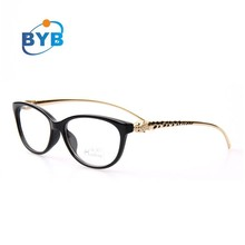 leopard head temple new model eyewear frame glasses vogue fashion optical glasses frame
