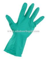 nitrilo guantes de trabajo