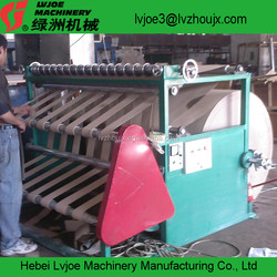 raw paper log roll cutting machine factory